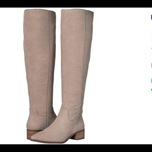 Lucky Brand Kitrie Boot in Chinchilla.